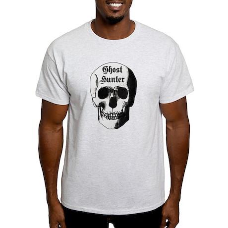 Ghost Hunter Skull Light T-Shirt