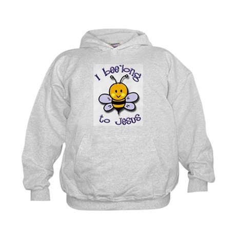 I Bee'long to Jesus (1) Kids Hoodie