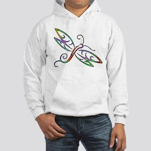 Colorful dragonfly Hoodie Sweatshirt