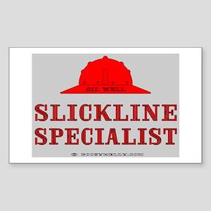 Slickline Specialist Rectangle Sticker