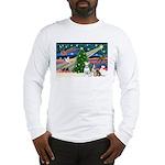 XmasMagic/2 Bullies Long Sleeve T-Shirt