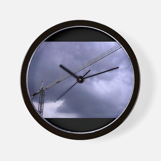Cute Angry sky Wall Clock
