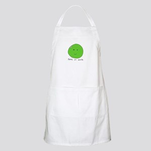 BBQ Apron Peas on Earth