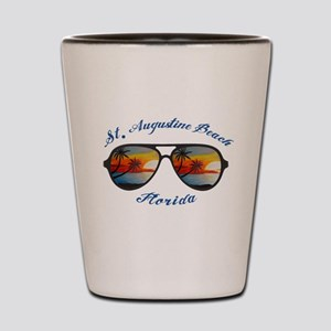 Florida - St. Augustine Beach Shot Glass