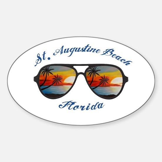 Florida - St. Augustine Beach Decal