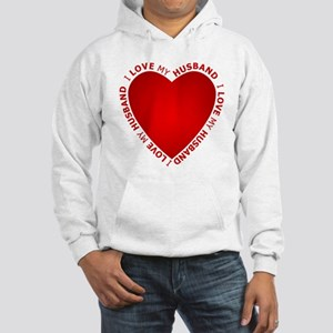 I Love My Husband - Hooded Sweatshirt