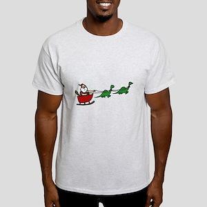 Funny Caveman Santa T-Shirt