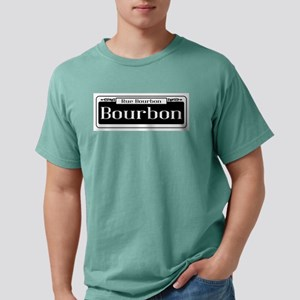Rue Bourbon Street Sign T-Shirt