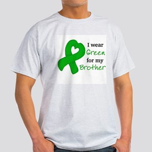 I WEAR GREEN for my Brother Light T-Shirt