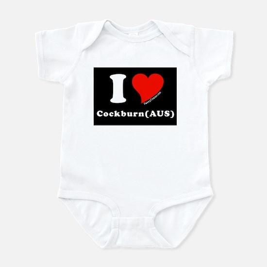 Cockburn (AUS) Australia T-sh Infant Bodysuit