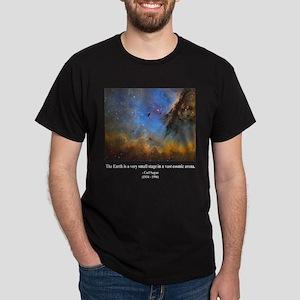 Carl Sagan D Dark T-Shirt