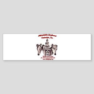 PGC Logo ~ Red Bumper Sticker
