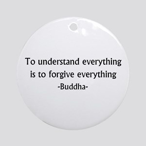Understand and Forgive Ornament (Round)