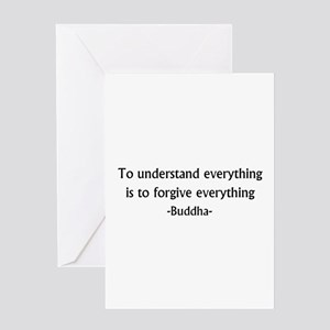 Understand and Forgive Greeting Card