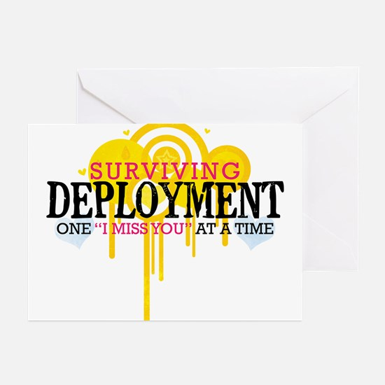 Deployment (I Miss You) Greeting Cards (Pk of 10)