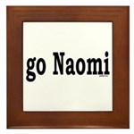 go Naomi Framed Tile