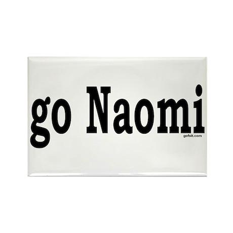 go Naomi Rectangle Magnet