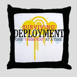 Deployment (I Miss You) Throw Pillow