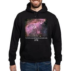 Carl Sagan O Hoodie (dark)