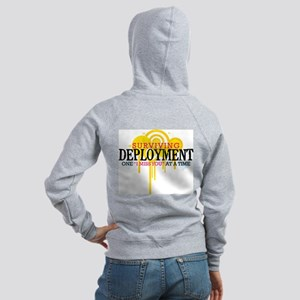 Deployment (I Miss You) Women's Zip Hoodie