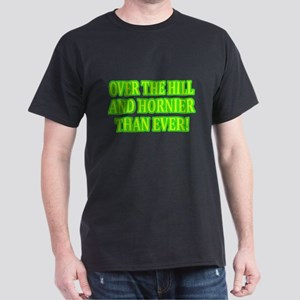 Horny Over the Hill Dark T-Shirt