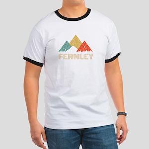 Retro City of Fernley Mountain Shirt T-Shirt