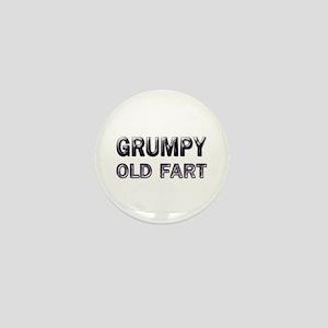 Grumpy Old Fart Mini Button