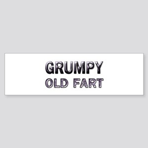 Grumpy Old Fart Bumper Sticker