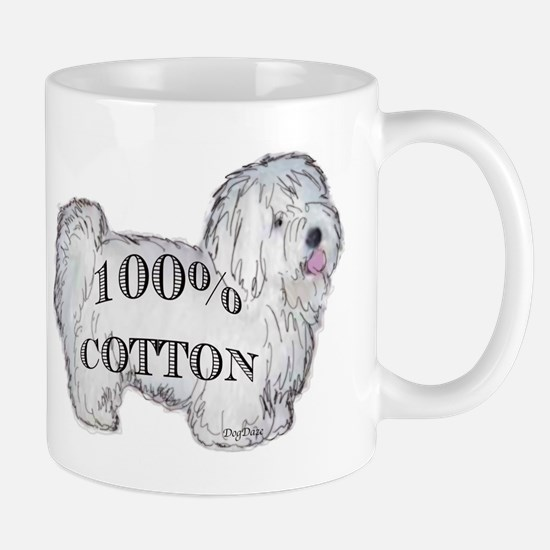 100% Cotton Mug