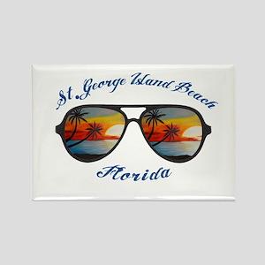 Florida - St. George Island Beach Magnets