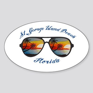 Florida - St. George Island Beach Sticker