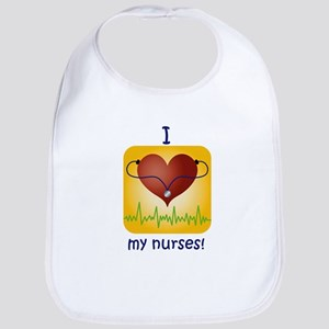Love My Nurses Bib