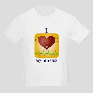 Love My Nurses Kids Light T-Shirt