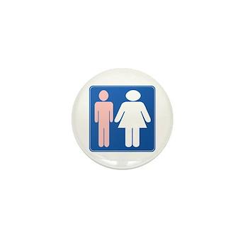 FAG HAG Sign Mini Button (100 pack)