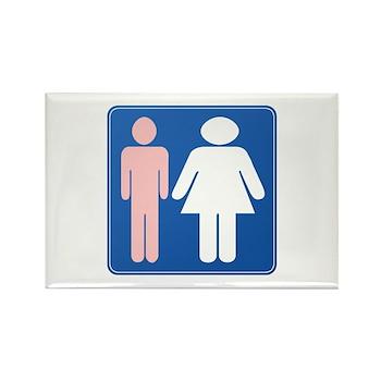 FAG HAG Sign Rectangle Magnet (100 pack)