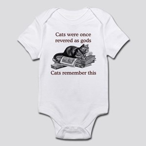 Cats As Gods Infant Bodysuit