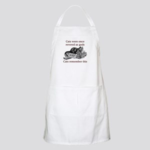 Cats As Gods BBQ Apron
