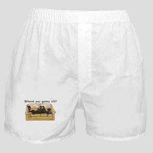 NBlk Where RU Boxer Shorts
