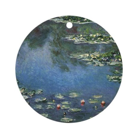 Waterlilies by Claude Monet Ornament (Round)
