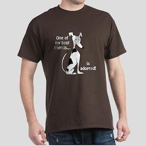 Adopted~White&Black Dark T-Shirt