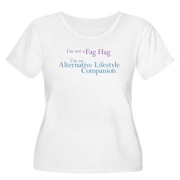 Alt. Lifestyle Companion Women's Plus Size Scoop N