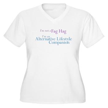 Alt. Lifestyle Companion Women's Plus Size V-Neck