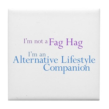 Alt. Lifestyle Companion Tile Coaster