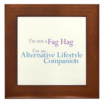 Alt. Lifestyle Companion Framed Tile