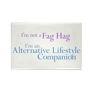 Alt. Lifestyle Companion Rectangle Magnet (100 pac