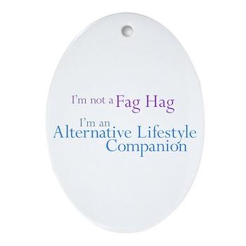 Alternative Lifestyle Compani Oval Ornament