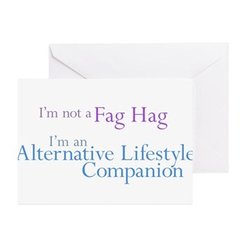 Alternative Lifestyle Compani Greeting Cards (10 p