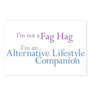 Alt. Lifestyle Companion Postcards (Package of 8)