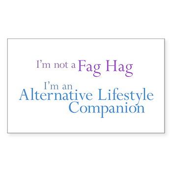 Alt. Lifestyle Companion Rectangle Sticker