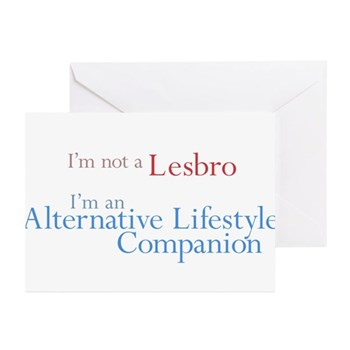 Alt. Lifestyle Companion Greeting Cards (10 pack)